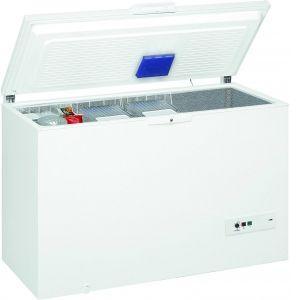 Congélateur bahut ELECTROLUX EC3202AOW Congélateur bahut de 300 L, Profondeur 66.5 cm, Blanc, classe énergie A+