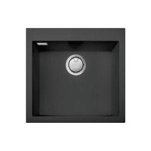 Lot cuve Granit Ikone IKO60 + mitigeur Encastrable, rectangulaire