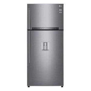 Réfrigérateur 2 portes LG GTF7851PS 2 portes, 509 l dont congélateur 130 l, classe A++, inoc