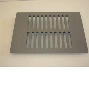 04165PB SUPRA Grille de décendrage Fonte, 283 X 192 mm