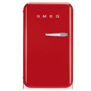 Réfrigérateur 1 porte SMEG FAB5LR1 Réfrigérateur 32 l, ROUGE CH GAUCHE
