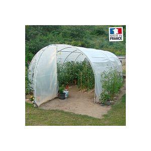 Grande serre tunnel de jardin 2 portes 3m x 6m - 18m2