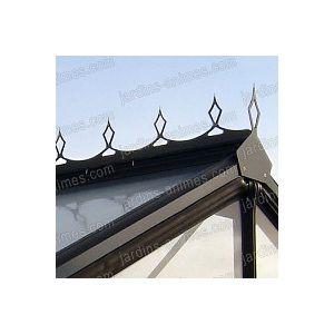 Faitiere decorative noir R306H