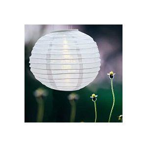 Lampion boule chinoise solaire à led
