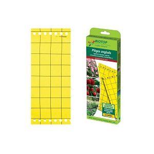 Piège chromatique jaune contre les mouches