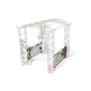 Balustrades pour arche - lot de 2