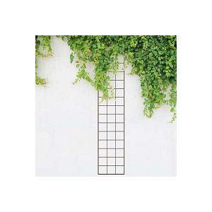 Tuteur treillage rectangle rosier et grimpante marron - Largeur 30cm