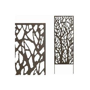 Panneau décoratif BRANCHES 0.6m x 1.5m métal