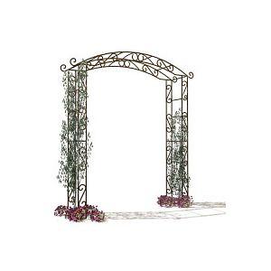 Arche de jardin en fer Pagode