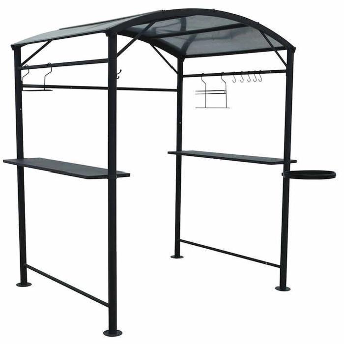 habrita car1613al tonnelle pour barbecue comparer avec. Black Bedroom Furniture Sets. Home Design Ideas