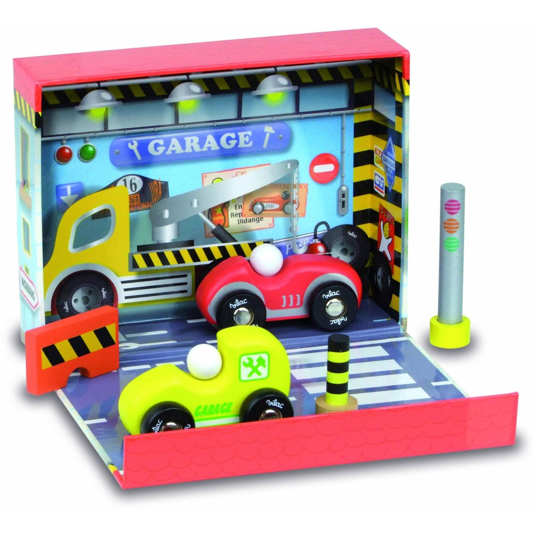 Vilac 2366 coffret de garage avec voitures comparer for Garage echange voiture