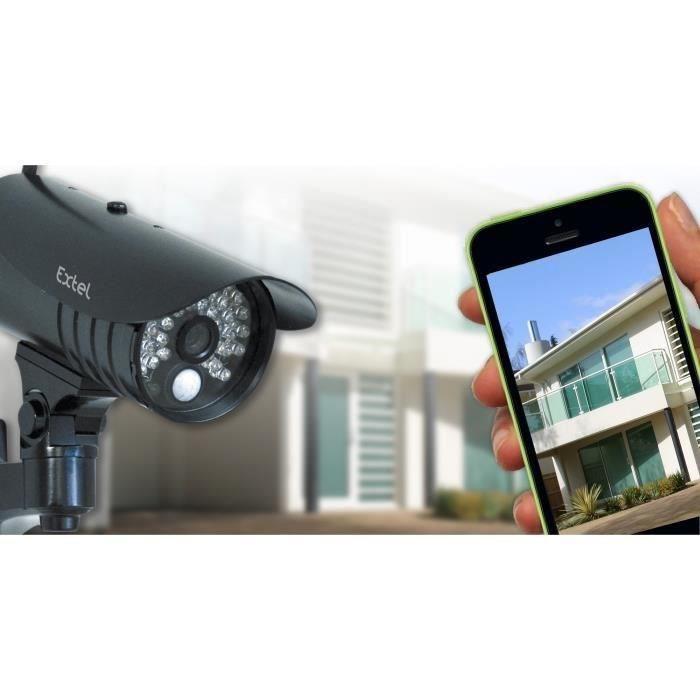 extel o kit set de surveillance sans fil comparer avec. Black Bedroom Furniture Sets. Home Design Ideas