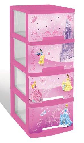 curver tour de rangement a4 princesse 4 tiroirs en plastique comparer avec