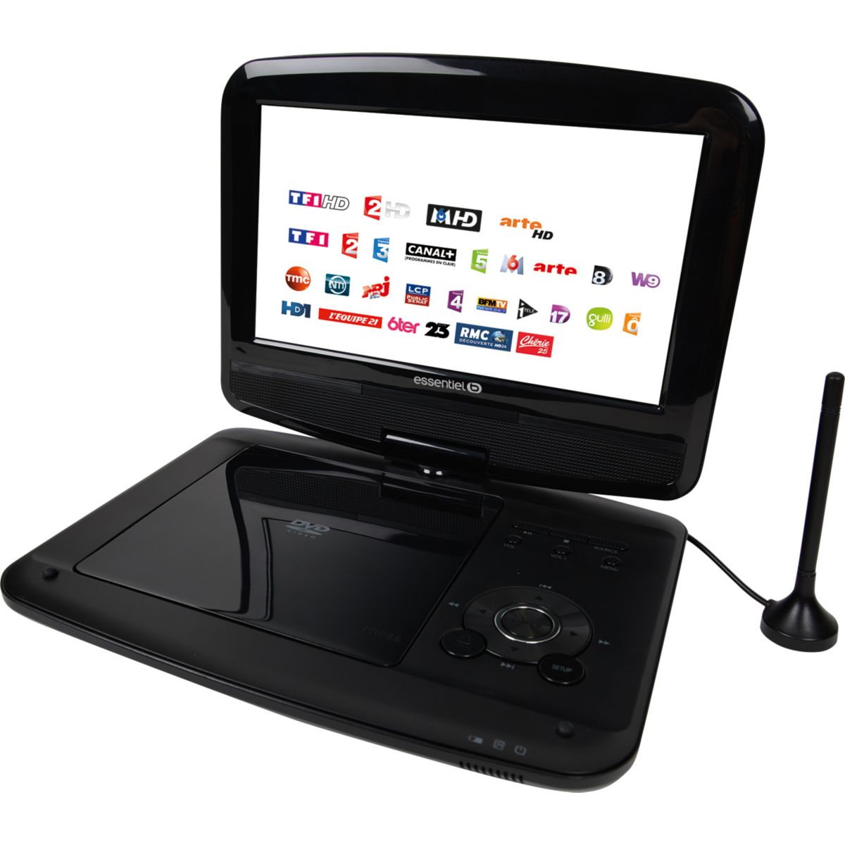 essentielb mobililive iii lecteur dvd portable 9 tnt hd comparer avec. Black Bedroom Furniture Sets. Home Design Ideas