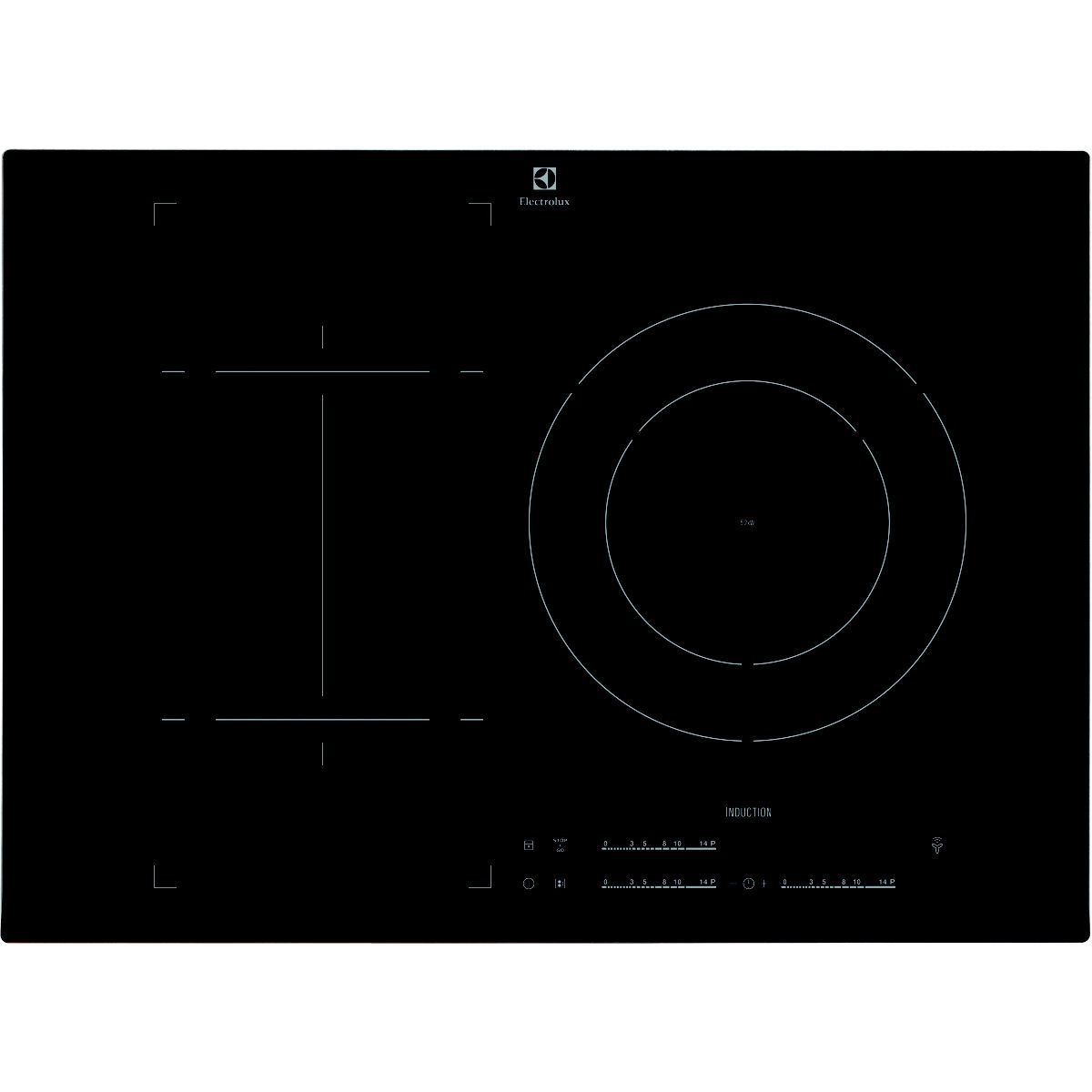 electrolux ehn7532lhk table de cuisson induction 3 zones comparer avec. Black Bedroom Furniture Sets. Home Design Ideas