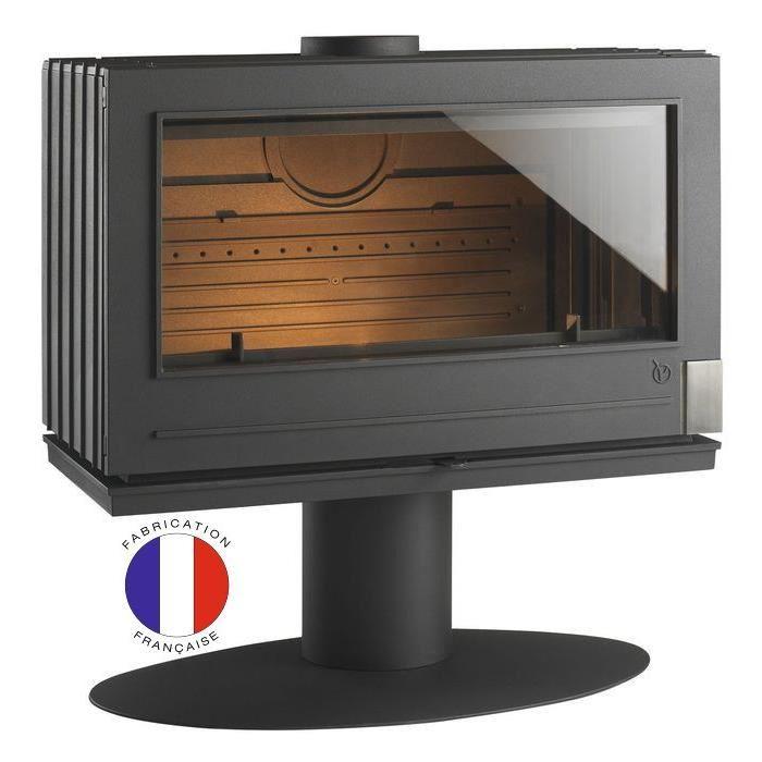 invicta 6127 44 poele bois elton 14 kw comparer avec. Black Bedroom Furniture Sets. Home Design Ideas