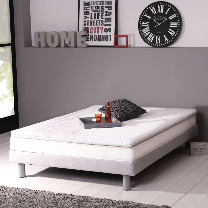 dormipur sur matelas en mousse m moire de forme d houssable 180 x 200 cm comparer avec. Black Bedroom Furniture Sets. Home Design Ideas