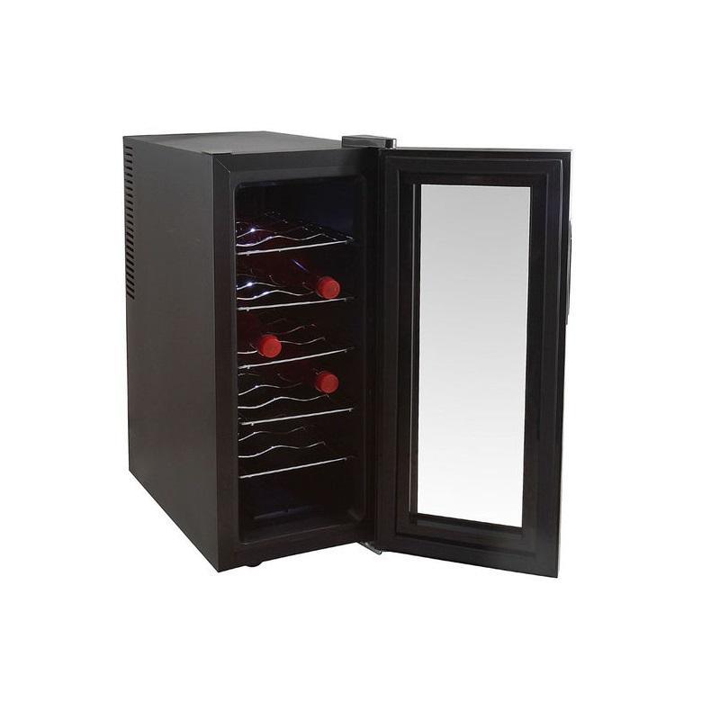 domoclip gs107 cave vin pour 12 bouteilles comparer. Black Bedroom Furniture Sets. Home Design Ideas