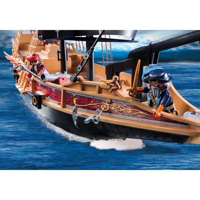playmobil 6678 pirates bateau pirates des t n bres comparer avec. Black Bedroom Furniture Sets. Home Design Ideas
