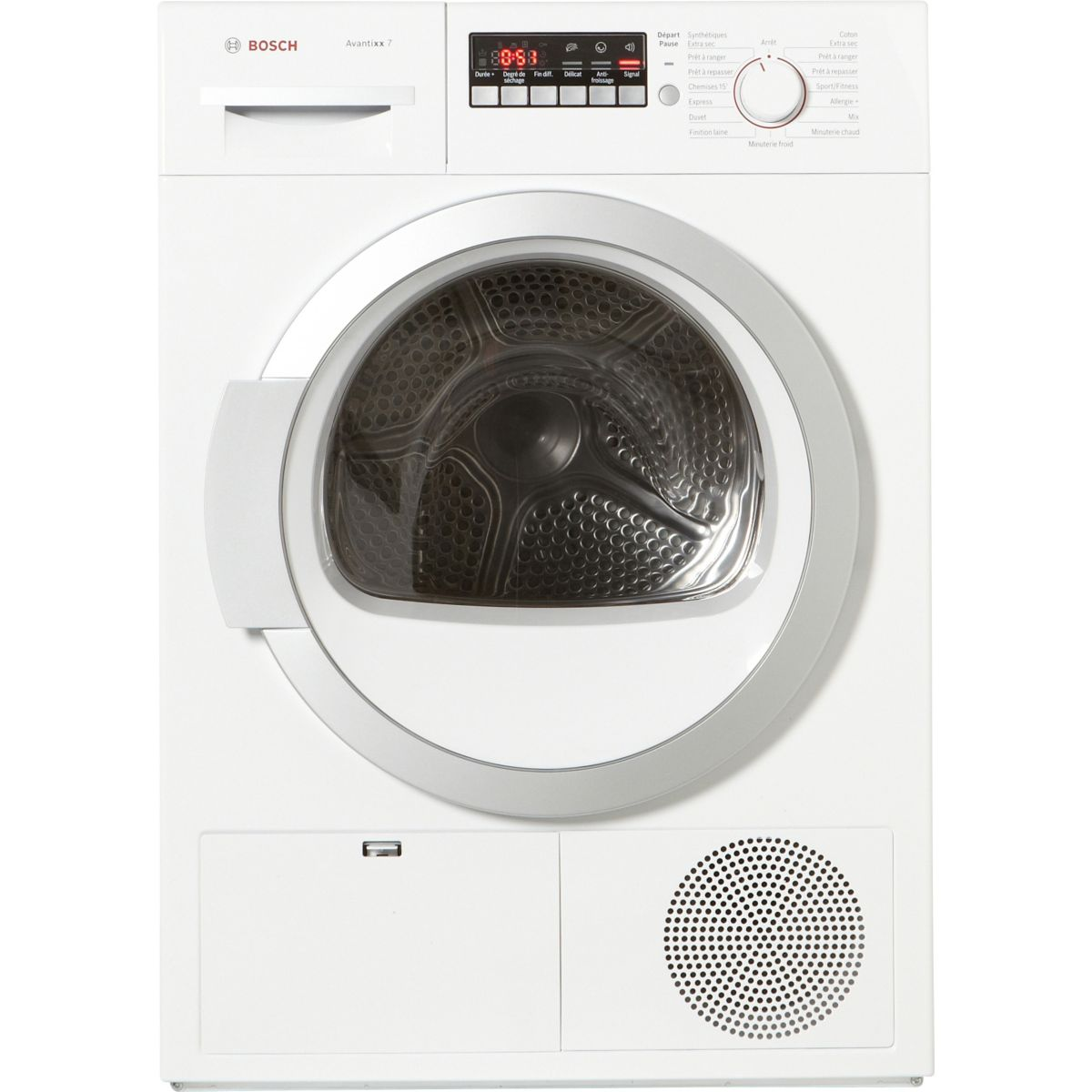 bosch wtb86200ff s che linge frontal condensation 7 kg comparer avec. Black Bedroom Furniture Sets. Home Design Ideas