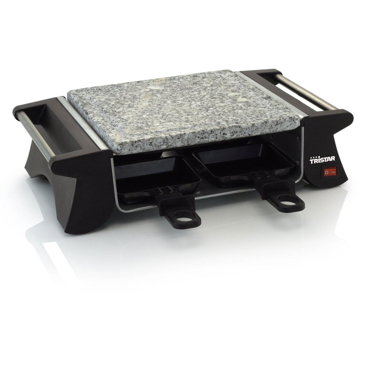 tristar ra-2990 - raclette et pierre à cuire 4 personnes - comparer