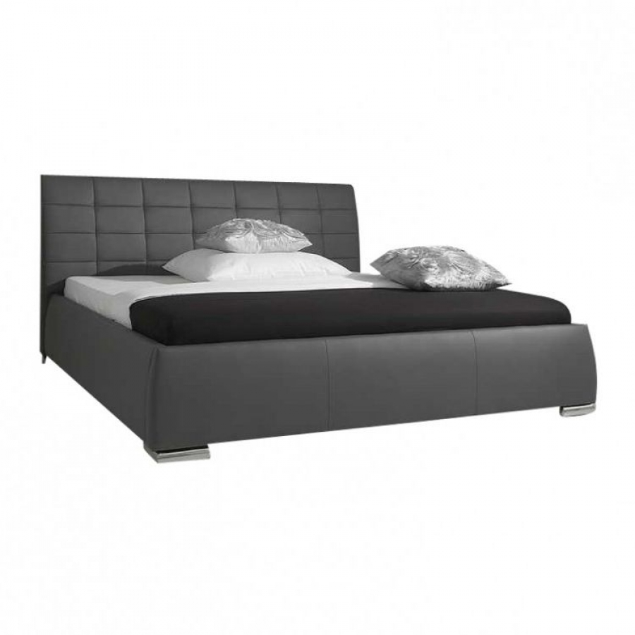 meise m bel lit rembourr clou avec t te de lit matelass e. Black Bedroom Furniture Sets. Home Design Ideas