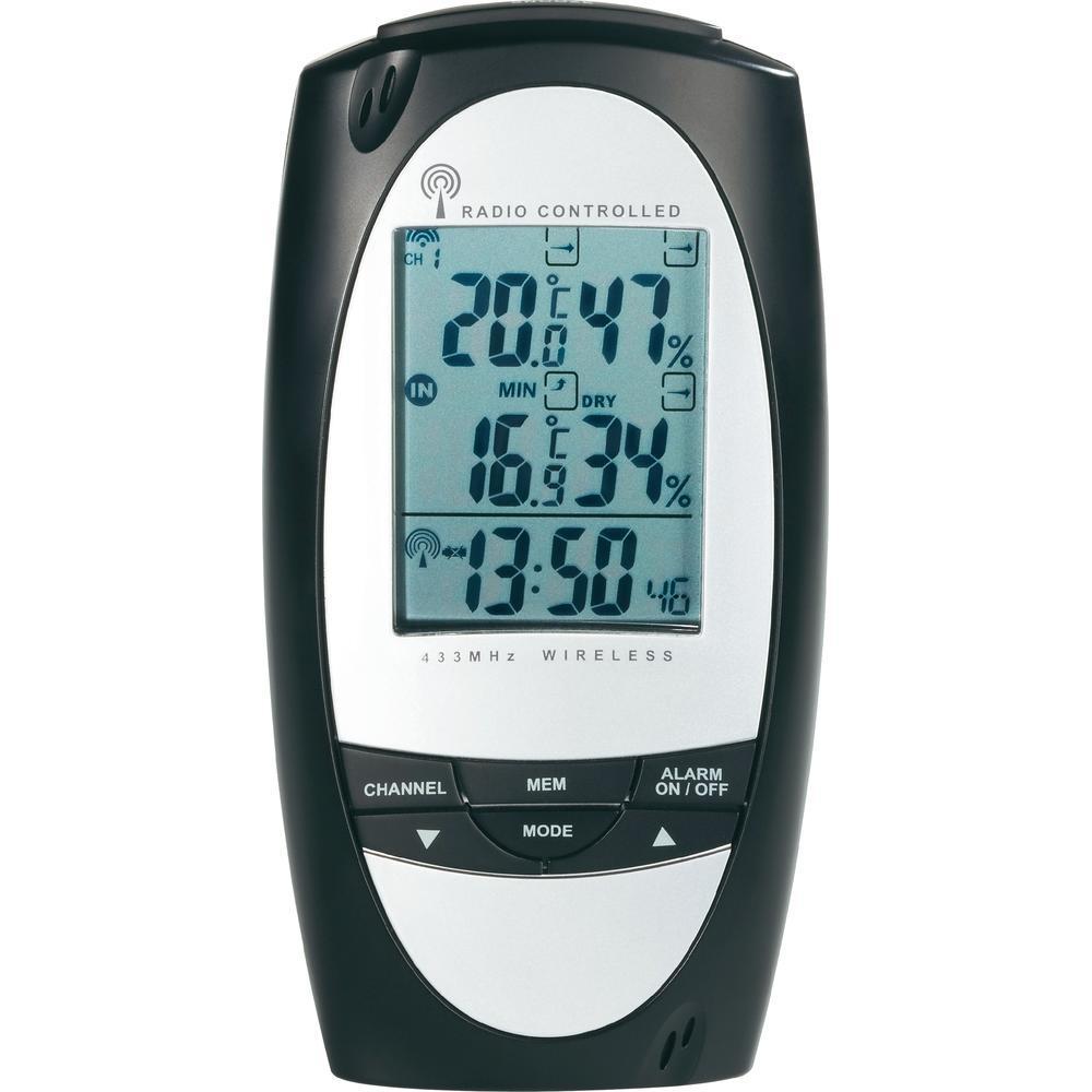 Conrad te857 station m t o sans fil temp rature for Station meteo temperature interieure et exterieure