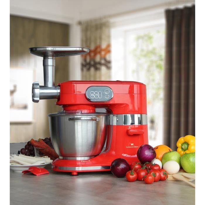Continental edison rb100w robot de cuisine professionnel for Robot de cuisine professionnel