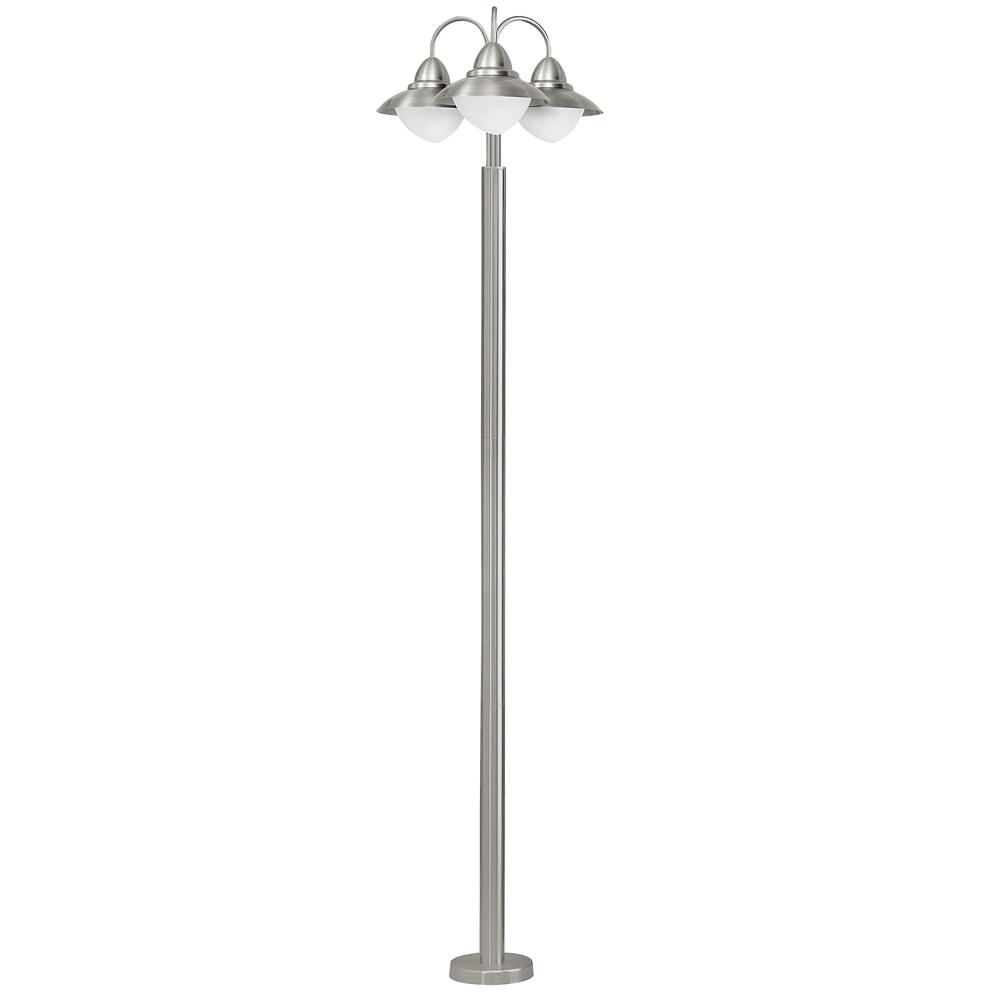 Eglo 83971 lampadaire lectrique 3 lampes sidney en for Lampadaire exterieur electrique