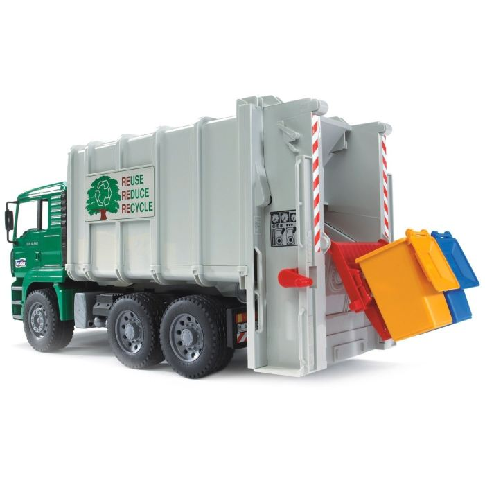 Toys Bruder Camion Camion Poubelle Man Toys Camion Bruder Man Toys Poubelle Bruder Poubelle nP8kXwO0