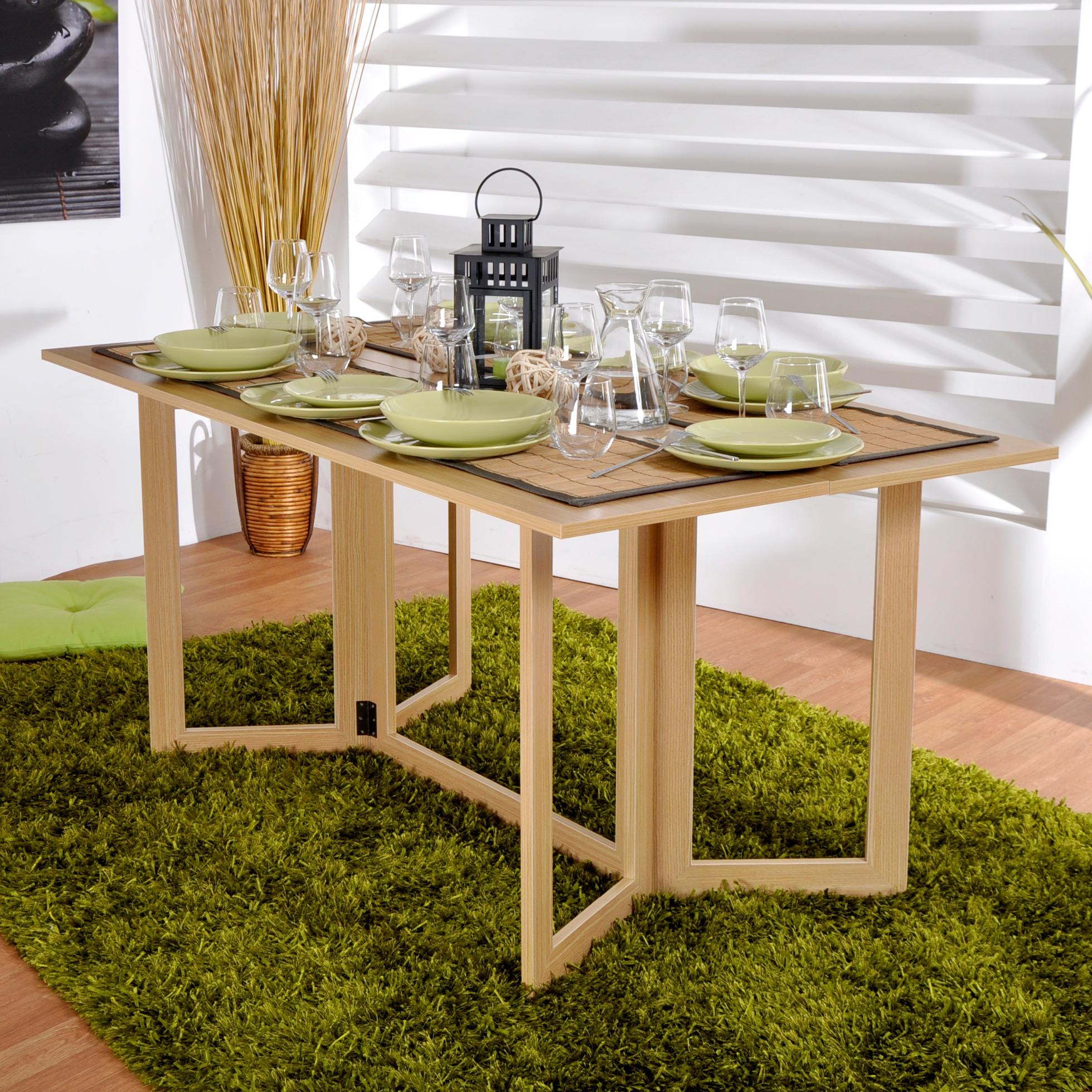table rectangulaire allegro double plateaux pliante 142 85 x 160 x 74 cm comparer avec. Black Bedroom Furniture Sets. Home Design Ideas