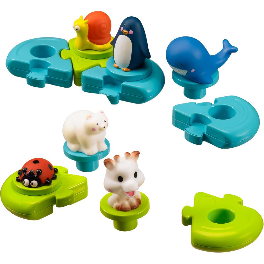 vulli puzzle de bain sophie la girafe comparer avec. Black Bedroom Furniture Sets. Home Design Ideas
