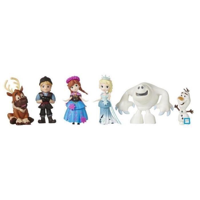 Hasbro mini poupee la reine des neiges pack collector 6 - La reine des neiges personnage ...