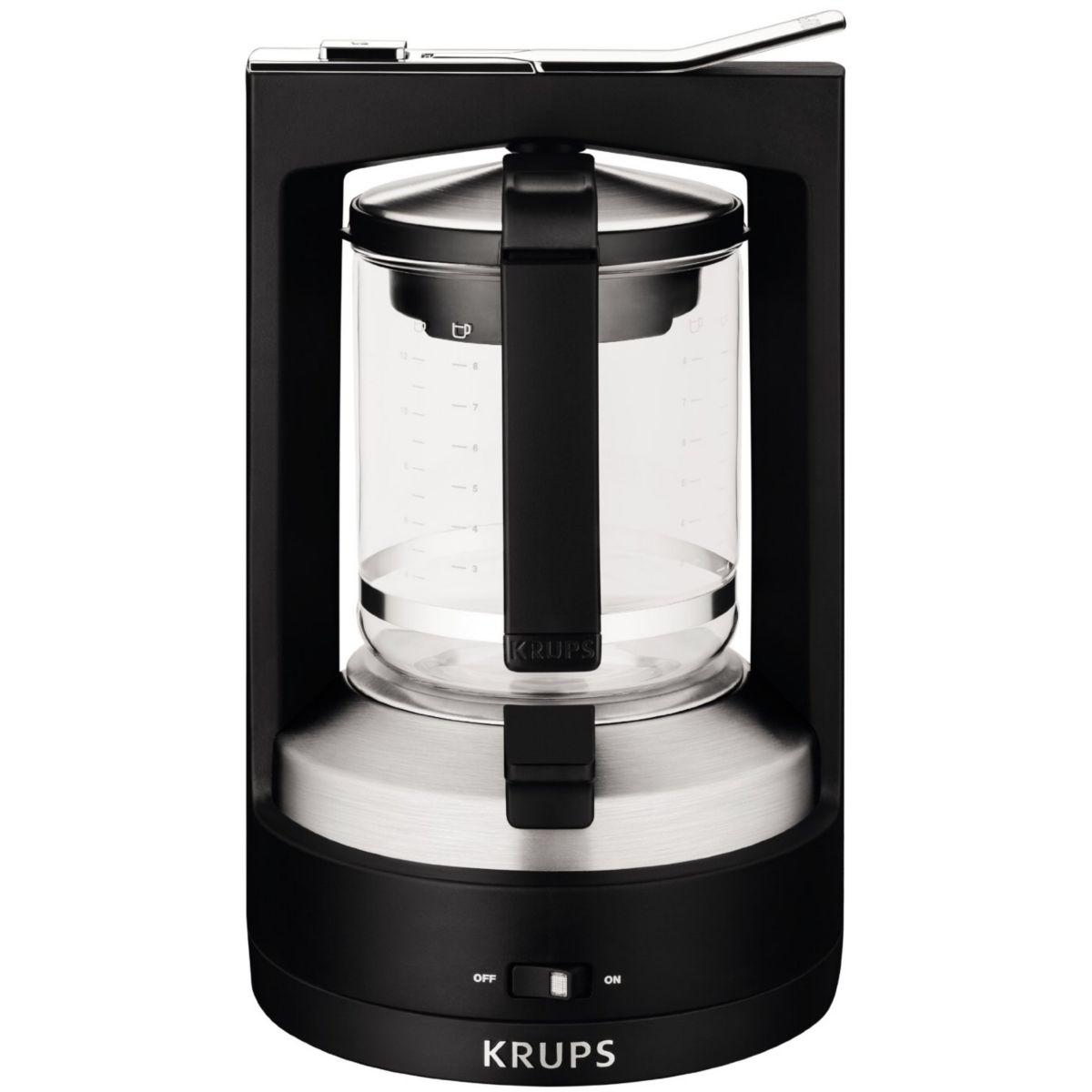 krups km468910 cafeti re filtre comparer avec. Black Bedroom Furniture Sets. Home Design Ideas