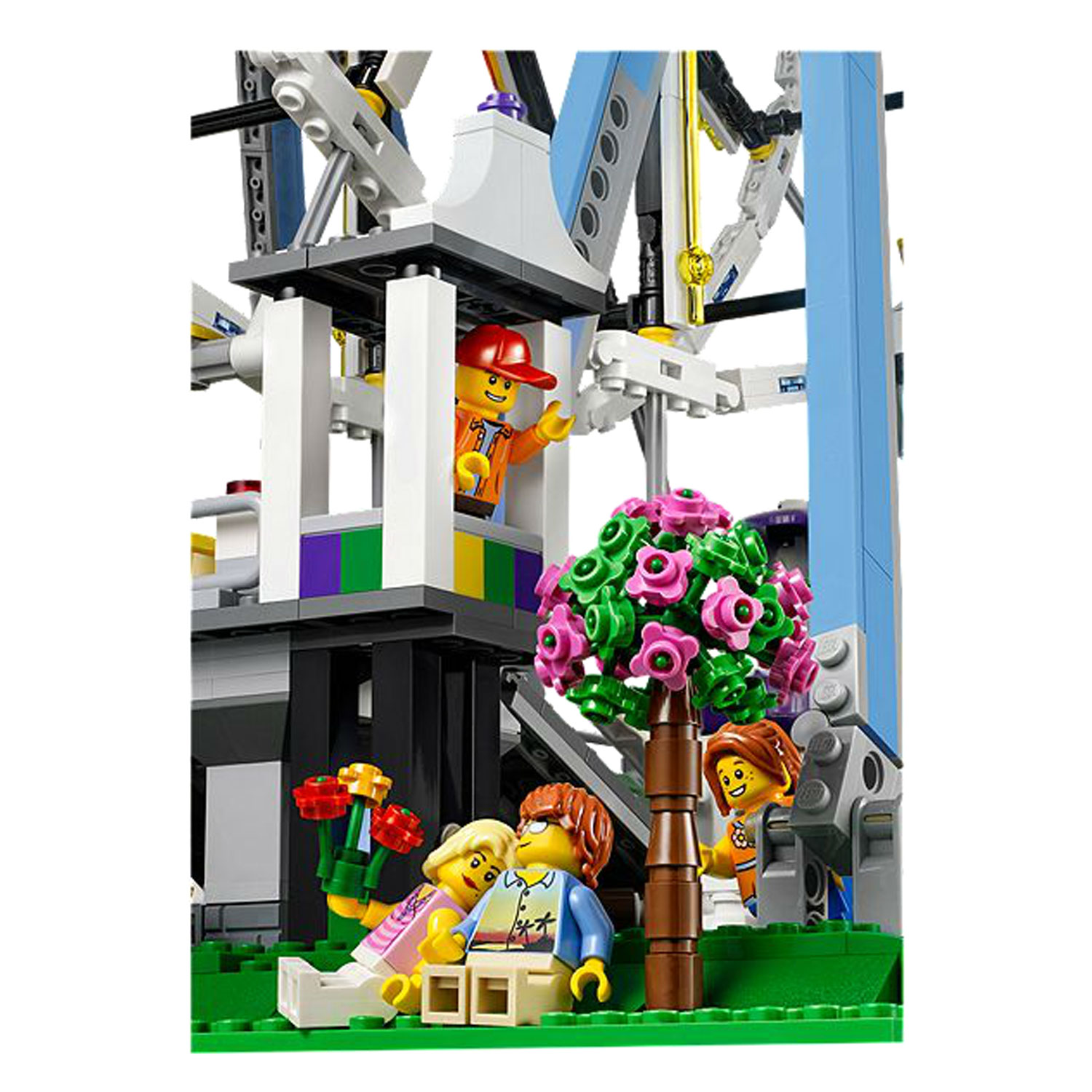 lego 10247 creator la grande roue comparer avec. Black Bedroom Furniture Sets. Home Design Ideas