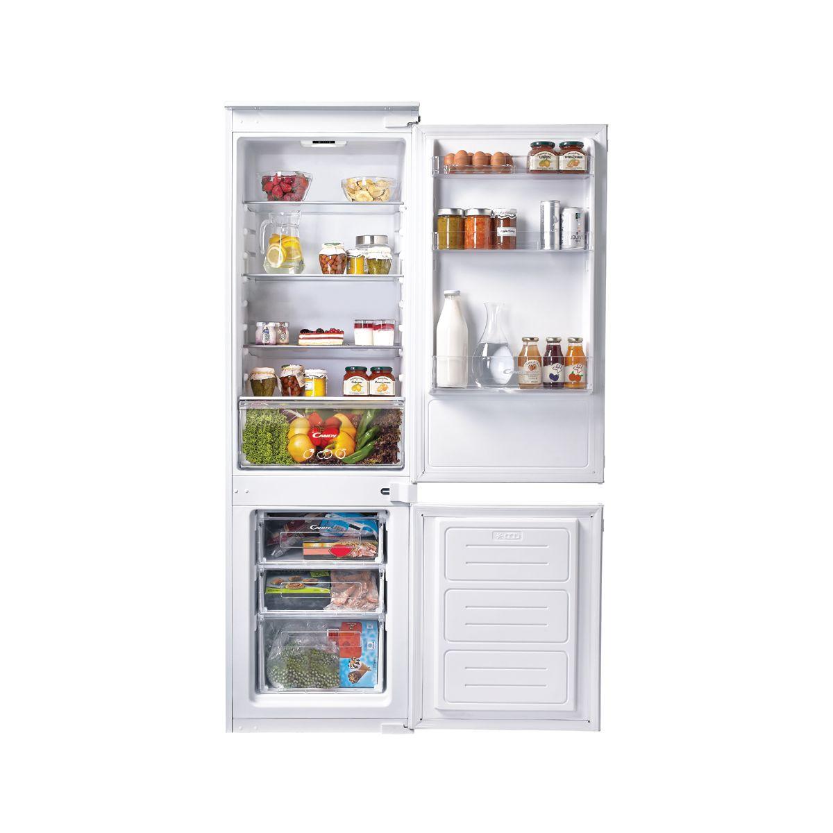 Candy ckbbs100 r frig rateur combin encastrable - Comparateur de prix refrigerateur ...