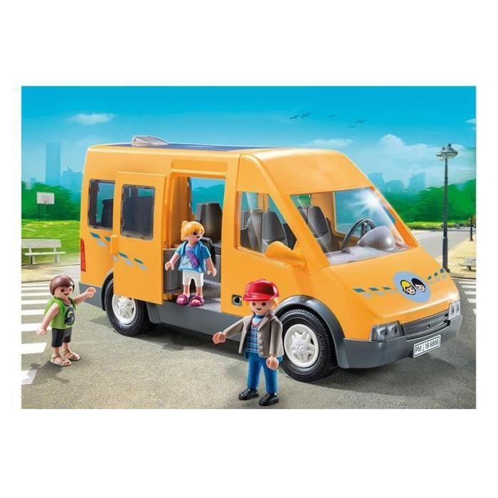 playmobil 6866 city life bus scolaire comparer avec. Black Bedroom Furniture Sets. Home Design Ideas