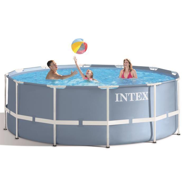 Intex 28726 Piscine Tubulaire Ronde 3 66 X 1 22 M Comparer Avec