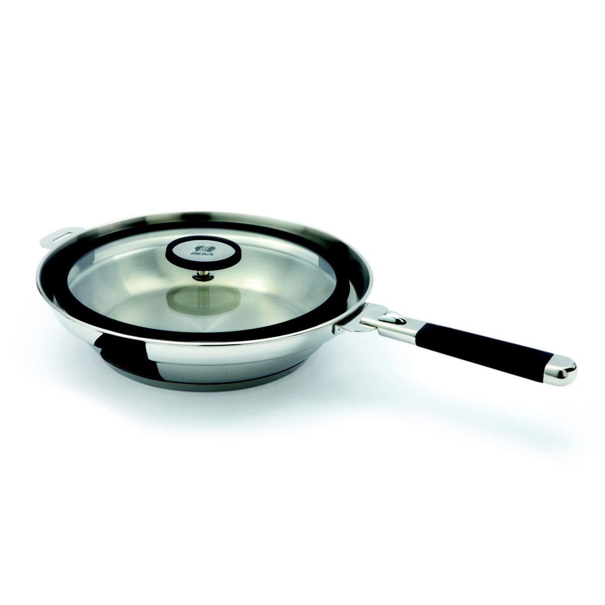 Beka po le clean cooking tout inox 24 cm comparer avec for Batterie poele inox