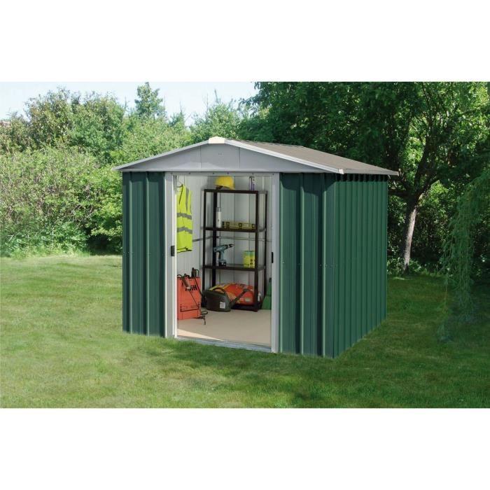 7499e629ad7c85 Yardmaster 87GEYZ - Abri de jardin en métal 4,68 m2 - Comparer avec  Touslesprix.com