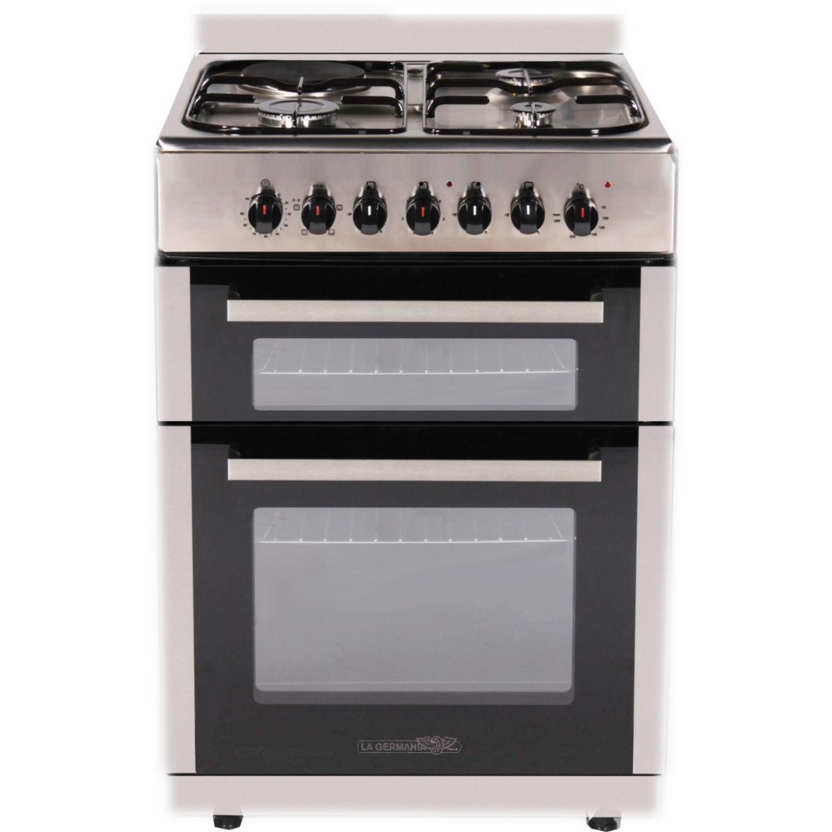 la germania tgx60dfx cuisini re mixte 3 foyers gaz avec four lectrique comparer avec. Black Bedroom Furniture Sets. Home Design Ideas
