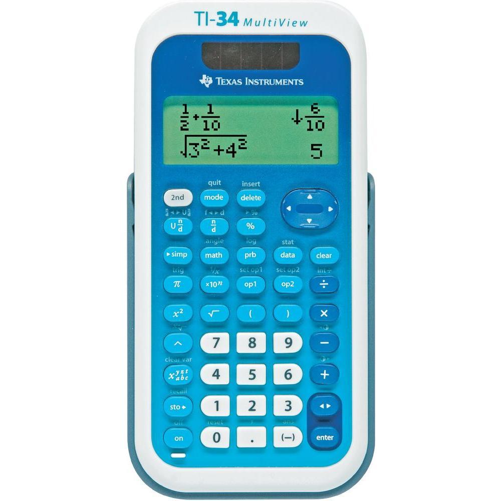 Texas instruments ti 34 multiview calculatrice for Calculatrice prix
