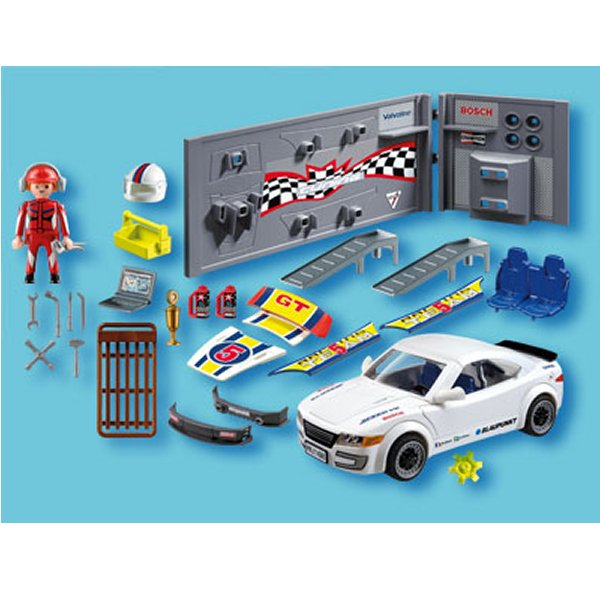 playmobil 4365 voiture tuning avec effets lumineux. Black Bedroom Furniture Sets. Home Design Ideas