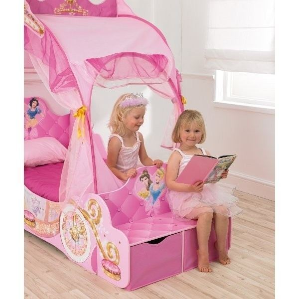 worlds apart lit carrosse disney princesses 70 x 140 cm comparer avec. Black Bedroom Furniture Sets. Home Design Ideas