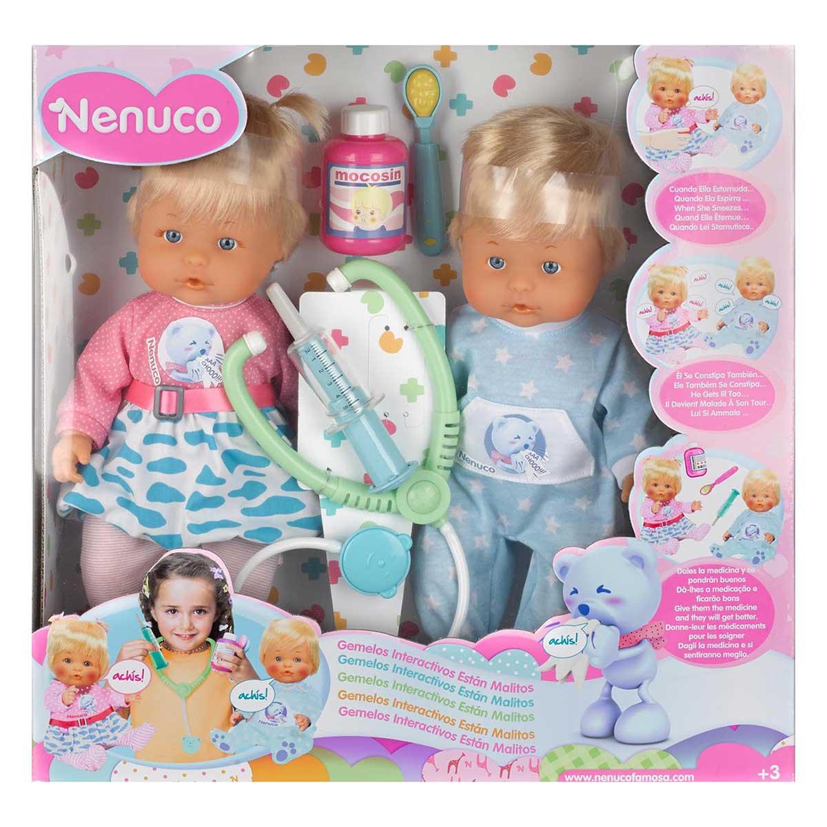 Famosa Nenuco - Les jumeaux Atchoum - Comparer avec ...