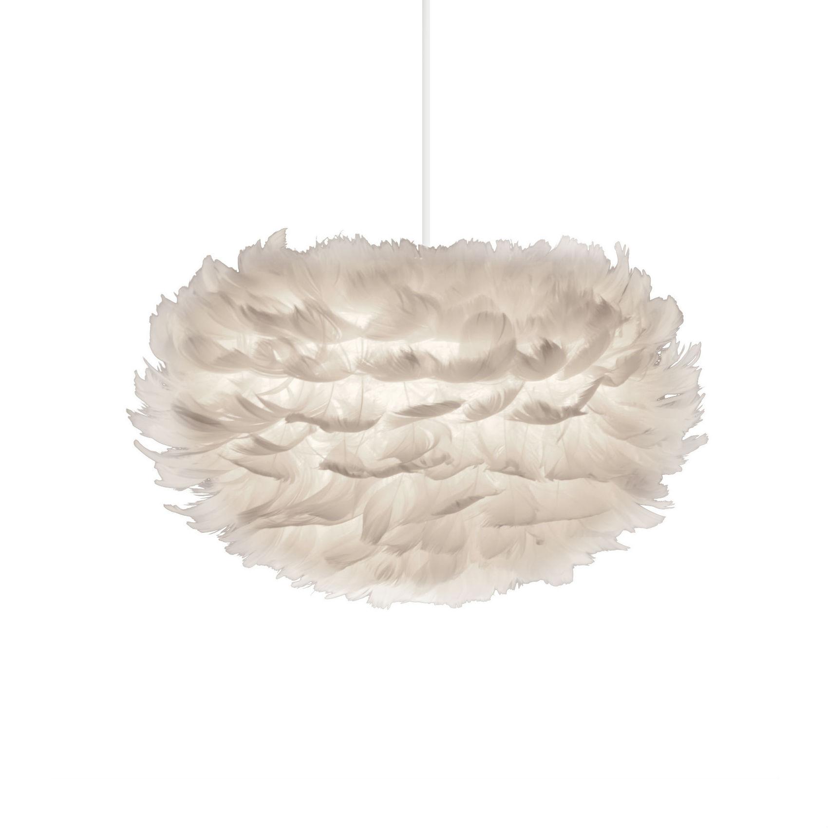 vita suspension eos avec abat jour en plumes 35 cm comparer avec. Black Bedroom Furniture Sets. Home Design Ideas