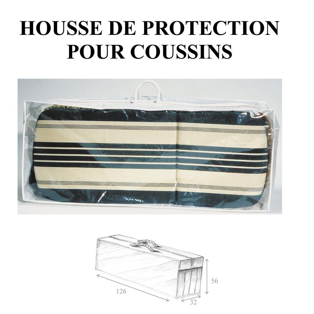 Maillesac housse luxe pour 2 coussins comparer avec for Housse isotherme pour palette