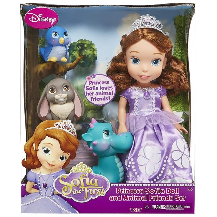 jakks pacific poup e parlante princesse sofia deluxe avec ses amis animaux 30 cm comparer avec. Black Bedroom Furniture Sets. Home Design Ideas
