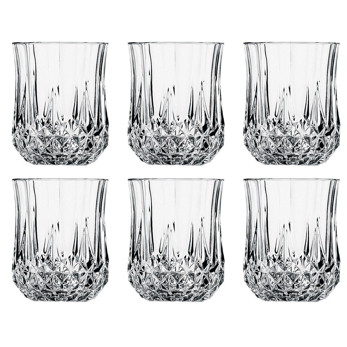 cristal d 39 arques 6 verres eau longchamp 32 cl comparer avec. Black Bedroom Furniture Sets. Home Design Ideas