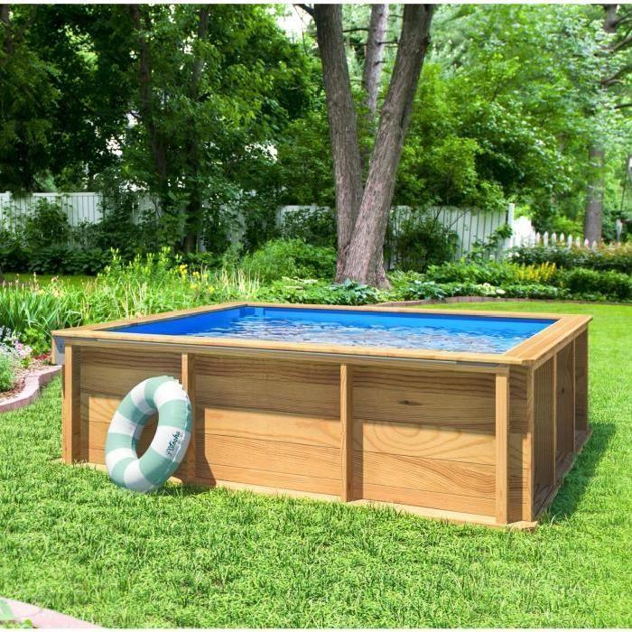 procopi pistoche piscine bois 200 x 200 x 63 cm. Black Bedroom Furniture Sets. Home Design Ideas